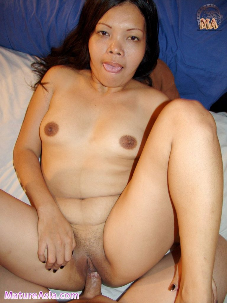 Asian grandma Tricia having sex