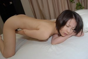 Asian Milf playing with herself