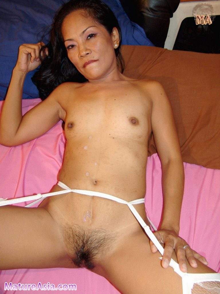 Tiny slut Filipino grandma flat chested petite