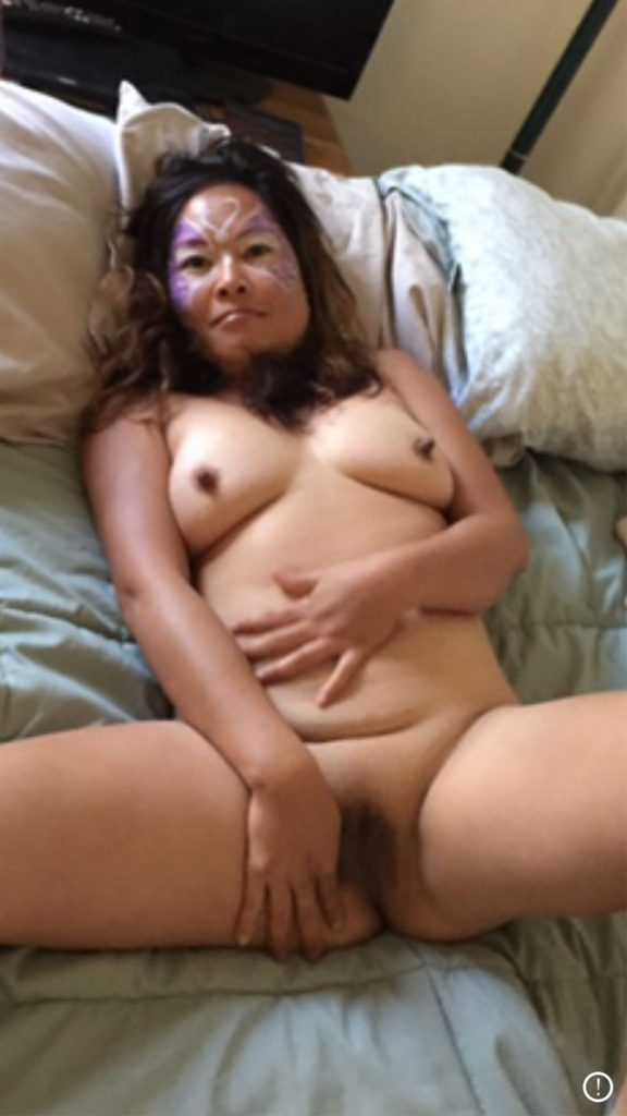 Sharing nude photos of Asian wife